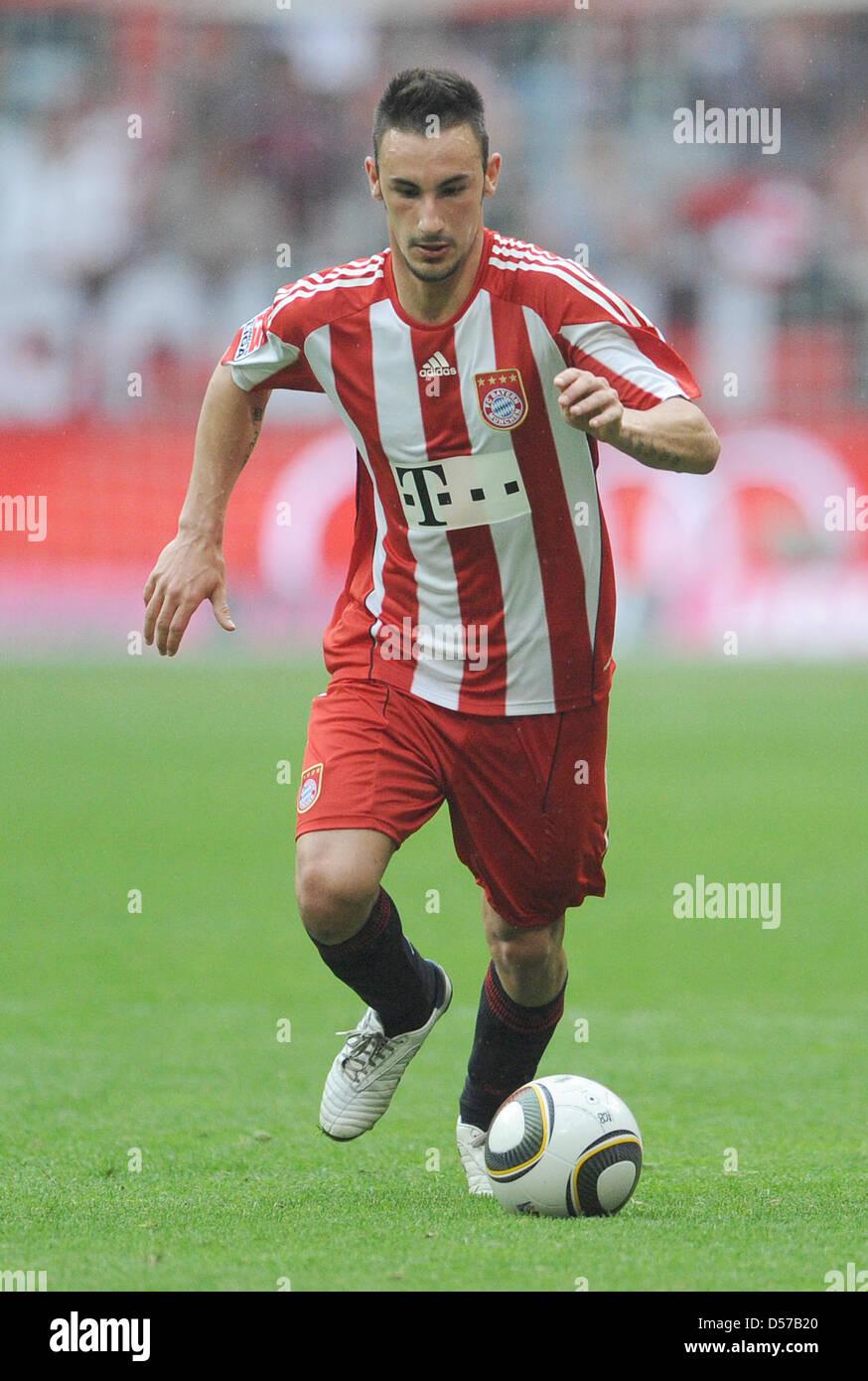 Monaco di Baviera Diego è contento durante il match della Bundesliga Bayern Monaco di Baviera vs VfL Bochum Immagini Stock