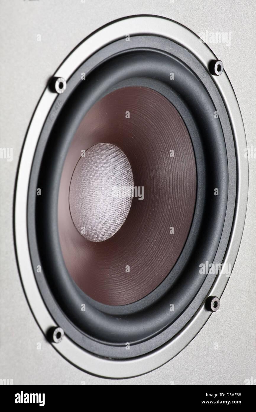 audio altoparlante Foto Stock