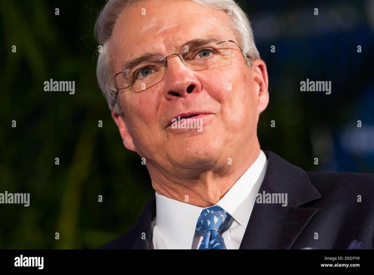 T. Allan McArtor, presidente di Airbus Americas. Immagini Stock