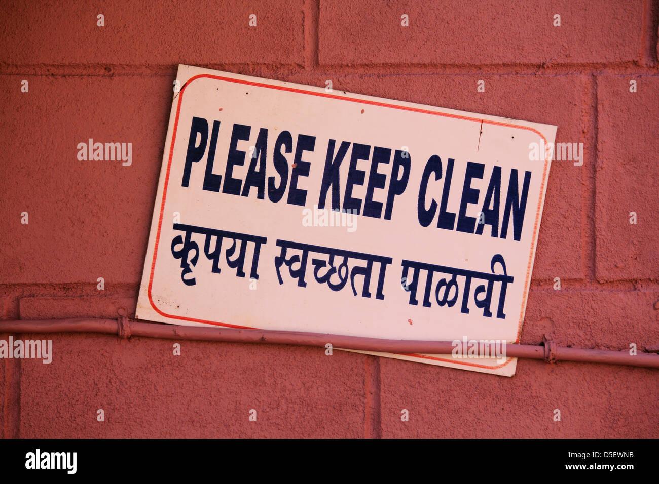 Cartelli Per Tenere Il Bagno Pulito : Cartello tenere pulito il bagno