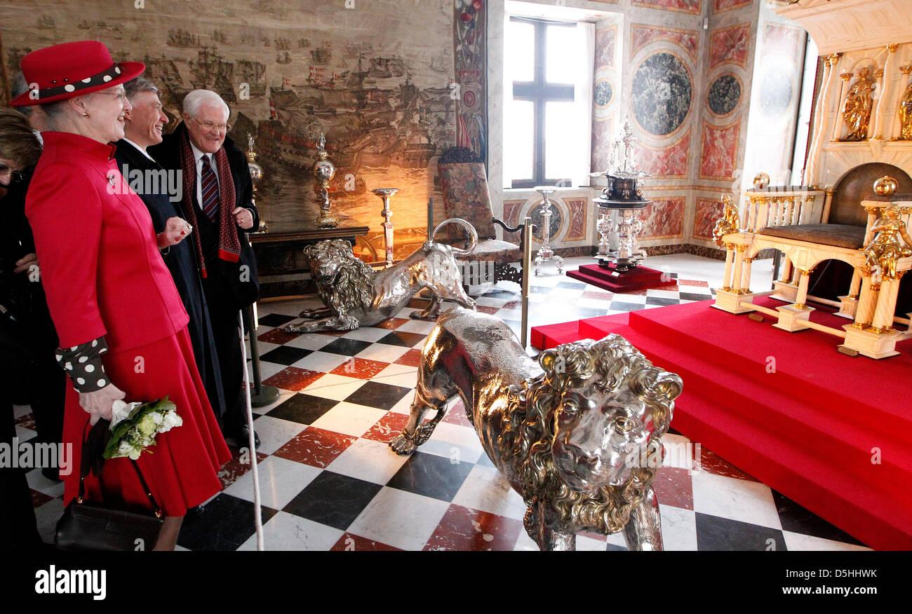 La Credenza In Tedesco : Danish queen margrethe c immagini & fotos