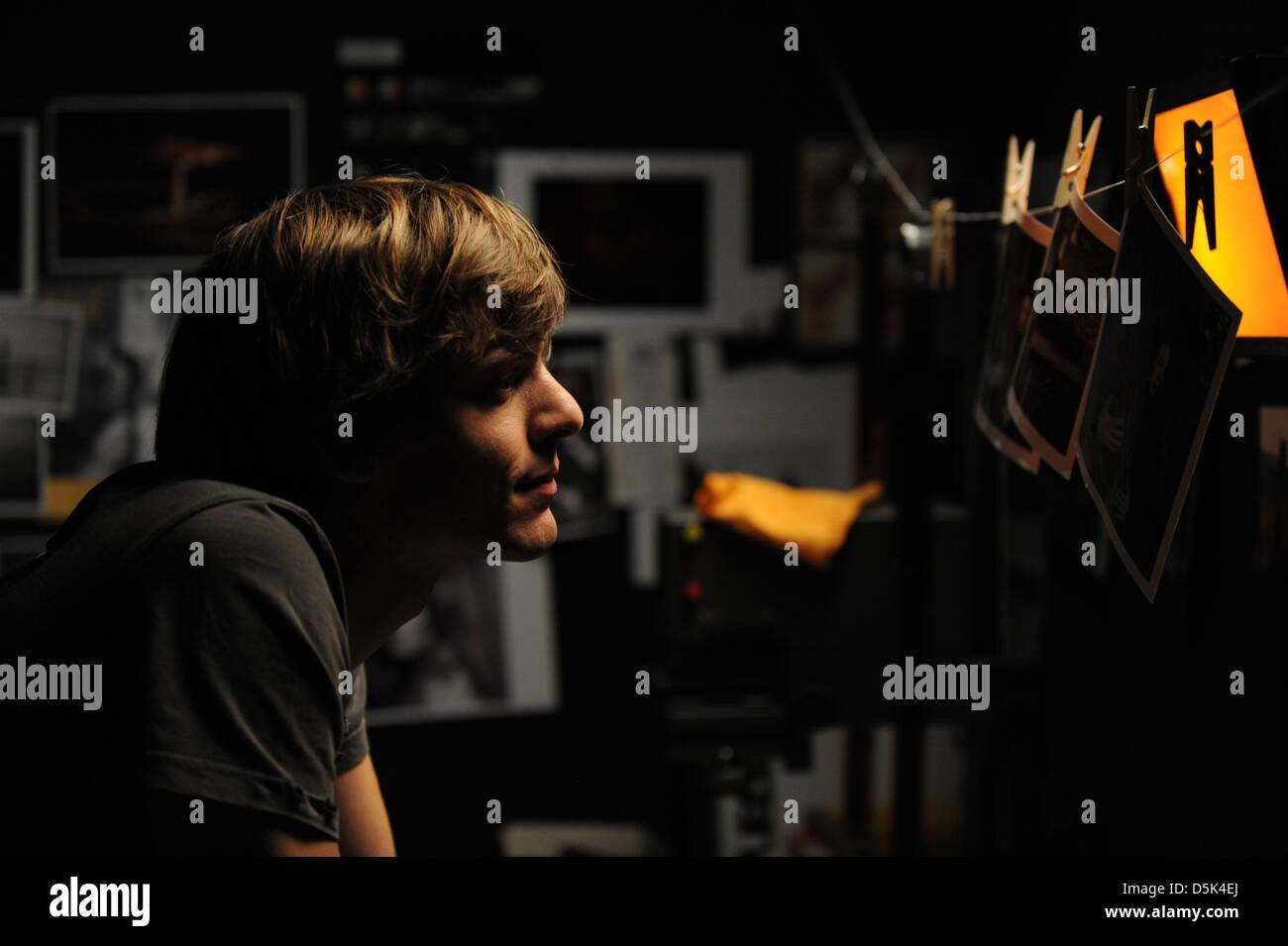 MARTIN CANNAVO MA PREMIERE FOIS; IL MIO PRIMO (2012) Immagini Stock