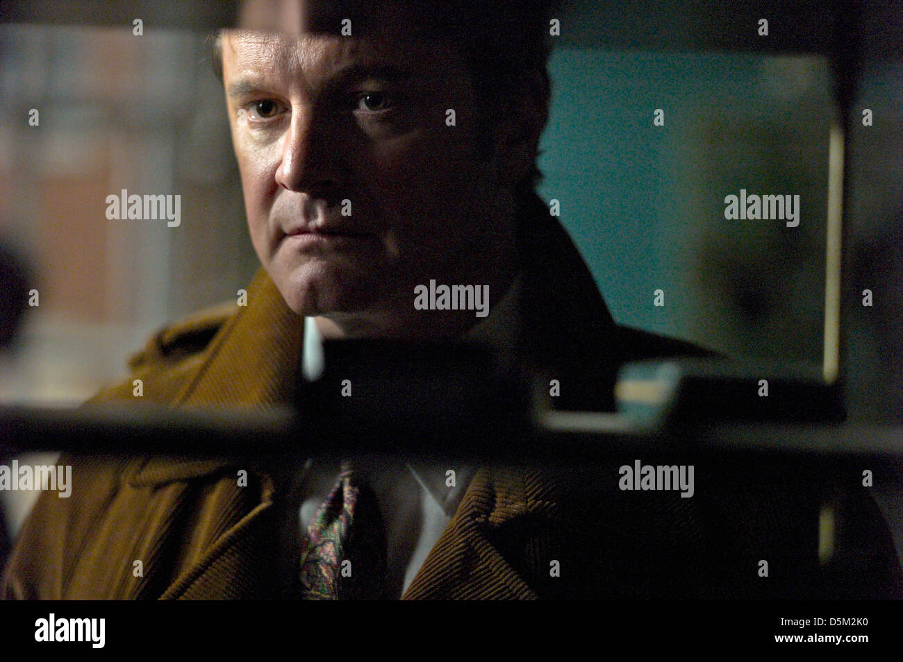 COLIN FIRTH TINKER TAILOR SOLDIER SPY (2011) Immagini Stock