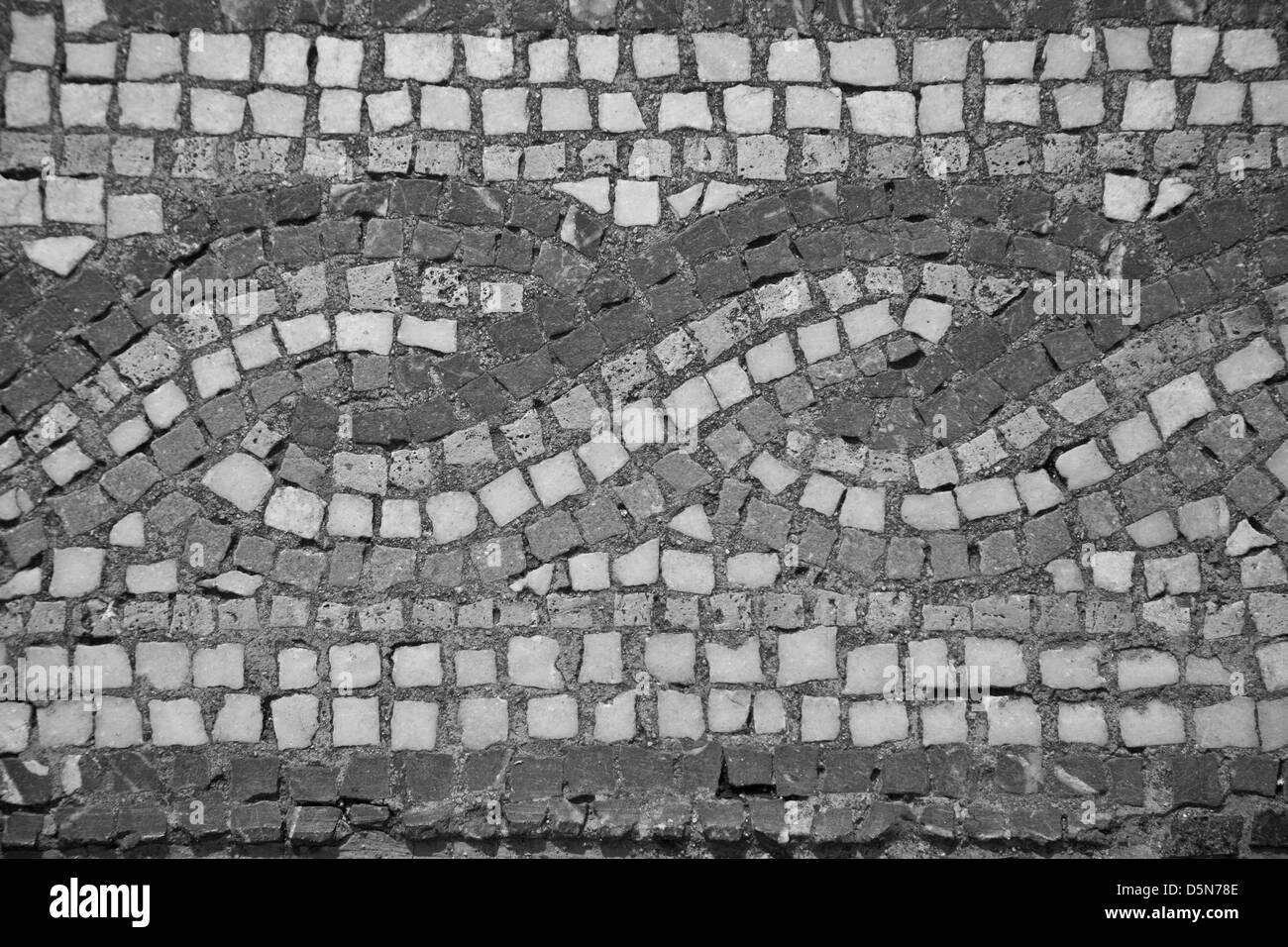 Texture in pietra piastrelle mosaico foto immagine stock