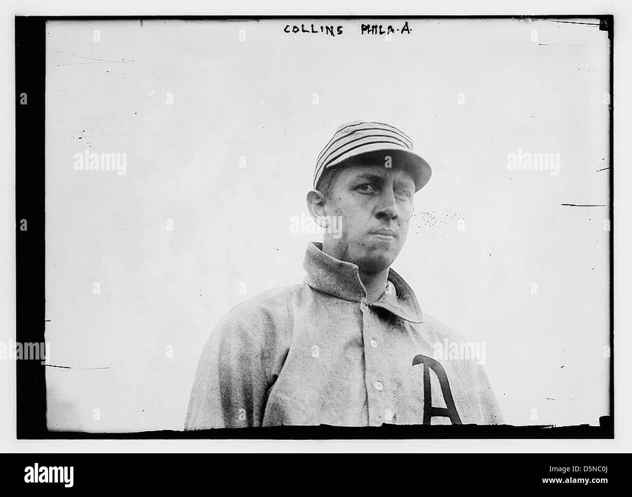 [Eddie Collins, Philadelphia, AL (baseball)] (LOC) Immagini Stock