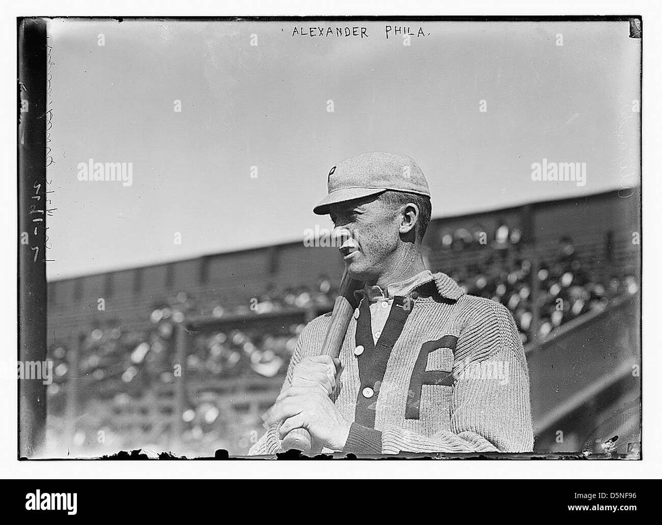 [Grover Cleveland Alexander, Philadelphia, NL (baseball)] (LOC) Immagini Stock