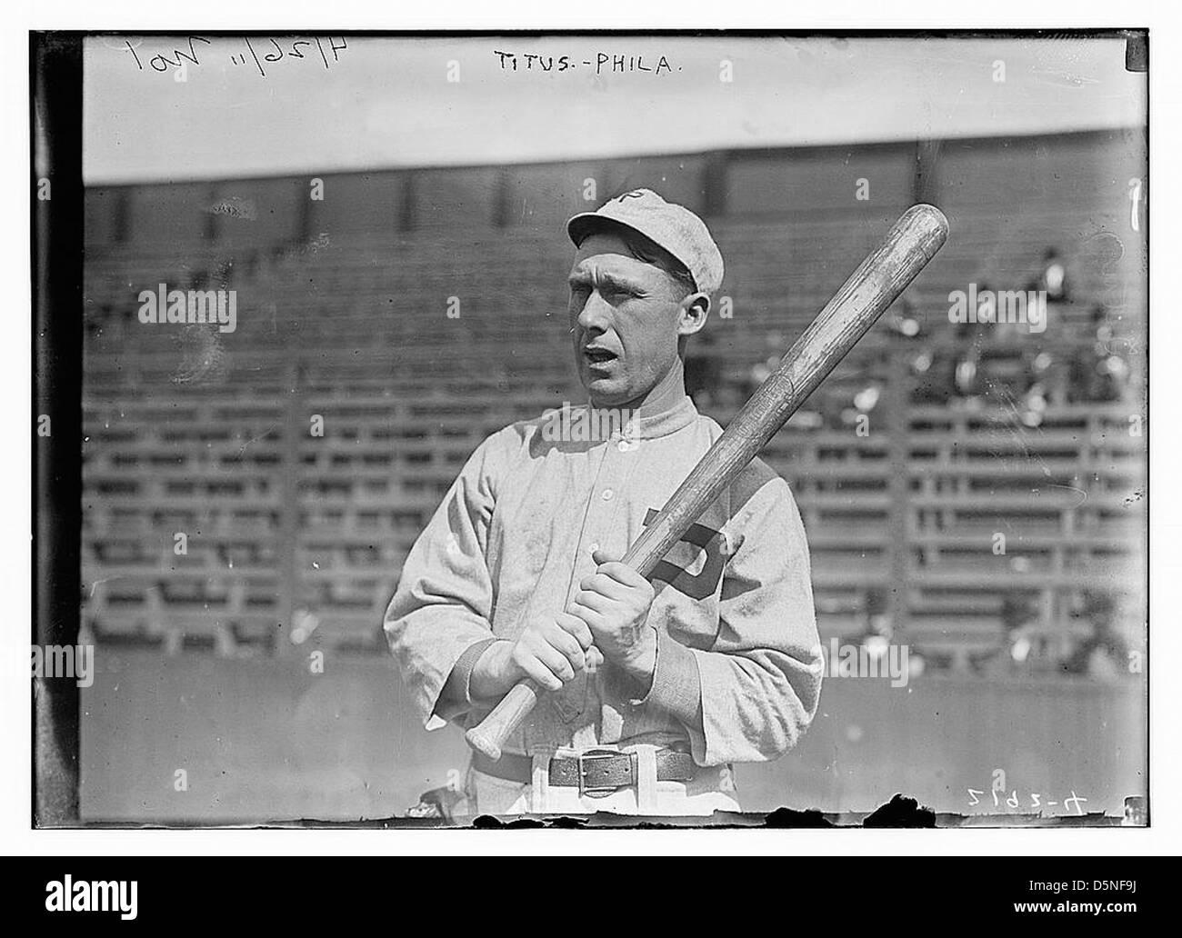 [Giovanni Tito, Philadelphia, NL (baseball)] (LOC) Immagini Stock