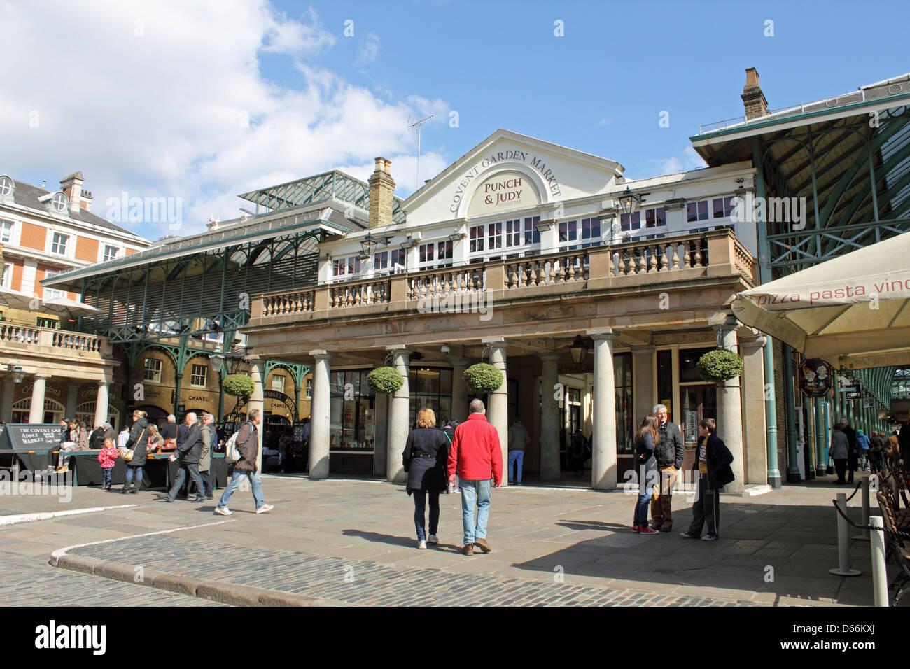 Il Covent Garden Londra Inghilterra REGNO UNITO Foto Stock