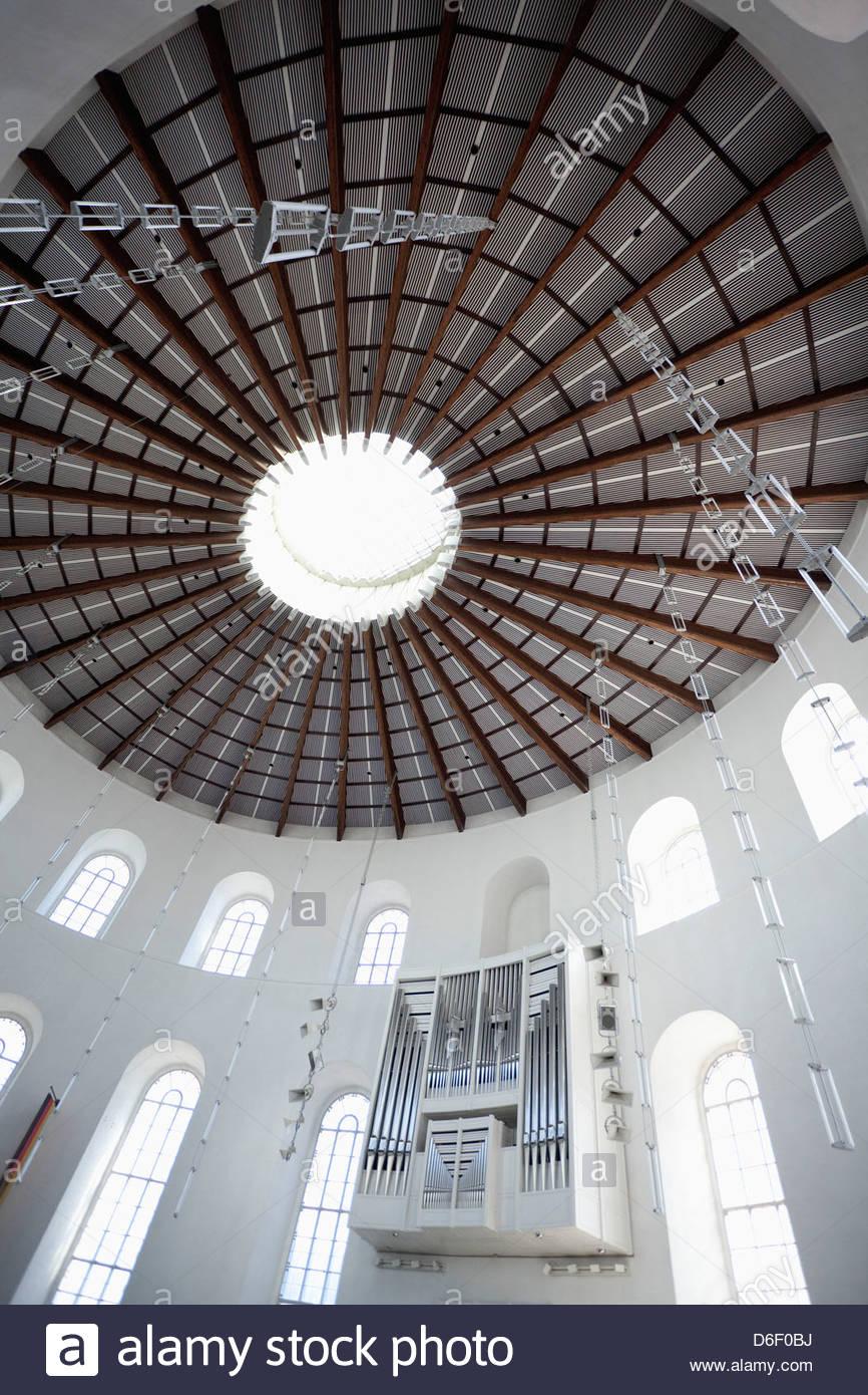 Paulskirche interni architettura di Francoforte Immagini Stock