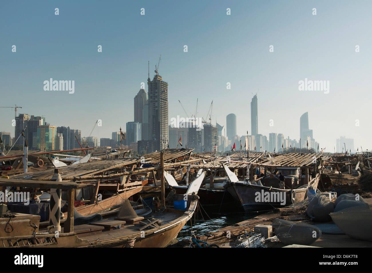 Abu Dhabi, Emirati Arabi Uniti, Medio Oriente Immagini Stock