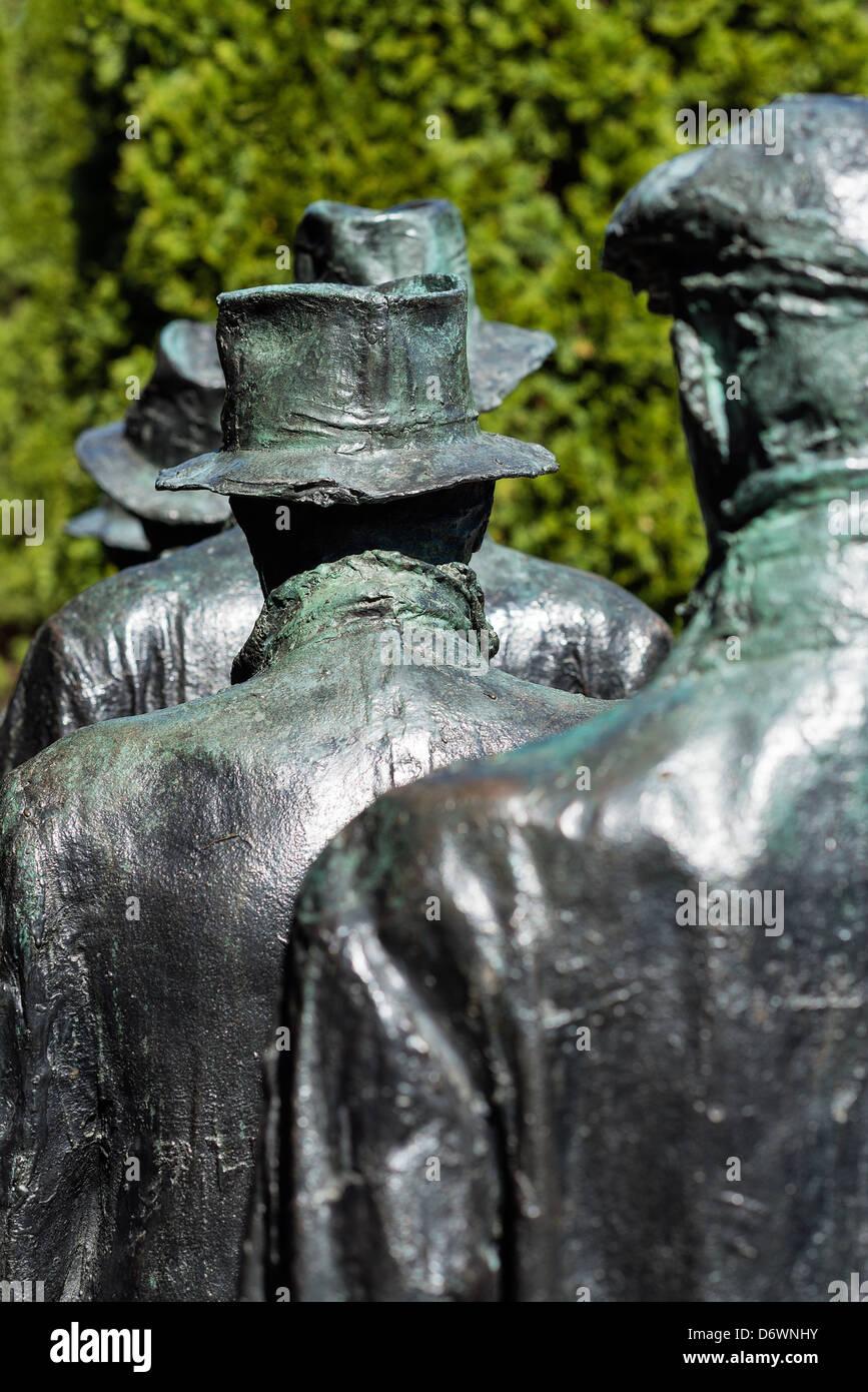 Motivi per la scultura, Hamilton, New Jersey, STATI UNITI D'AMERICA Immagini Stock