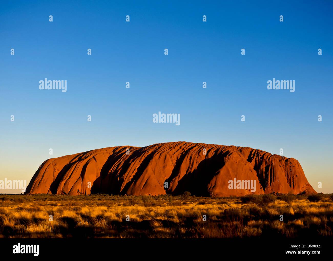 8625. Uluru o Ayers Rock, Territorio del Nord, l'Australia Foto Stock