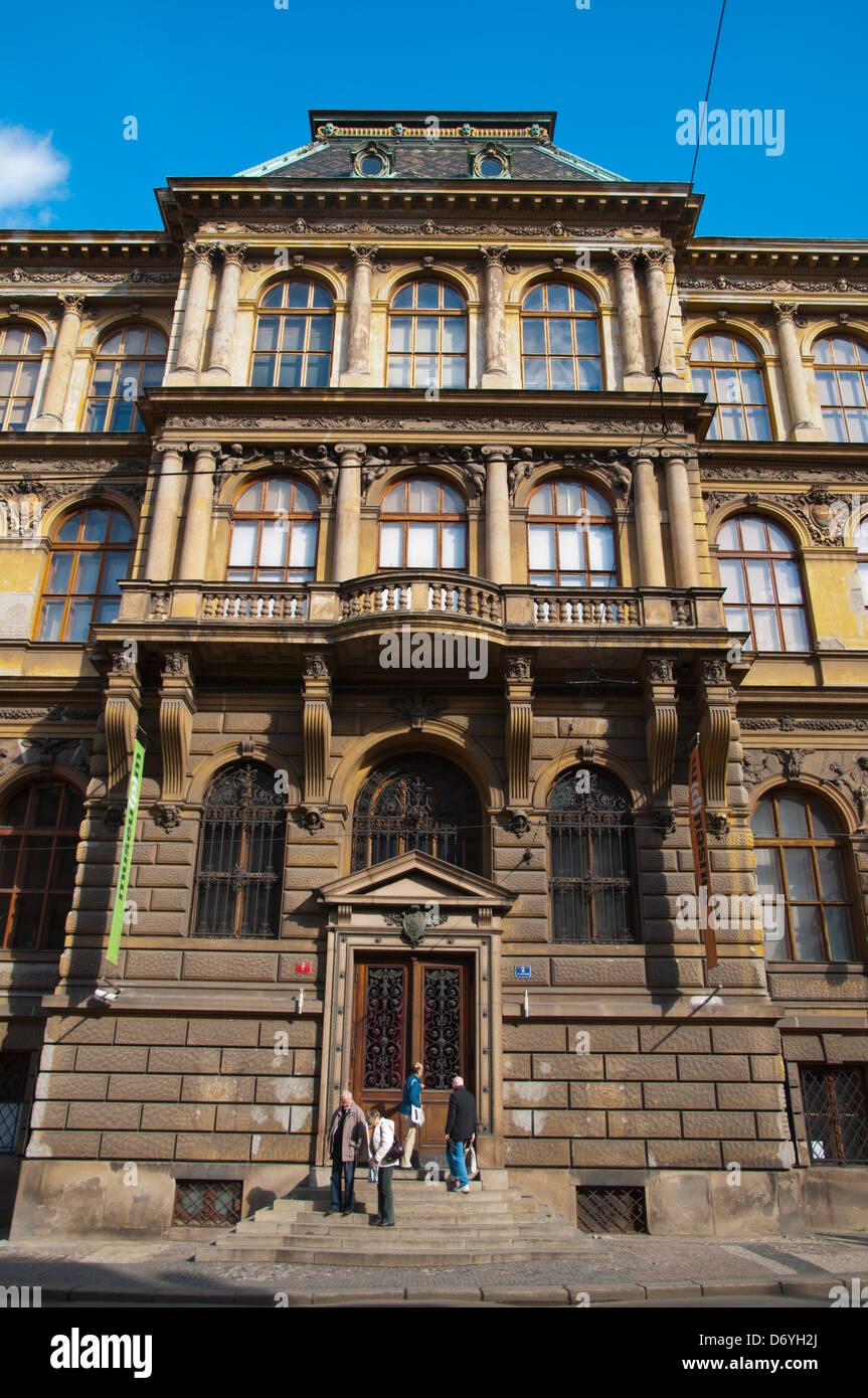 UPM Praga il Museo di Arti Decorative esterno(1901) Josefov città vecchia Praga Repubblica Ceca Europa Immagini Stock