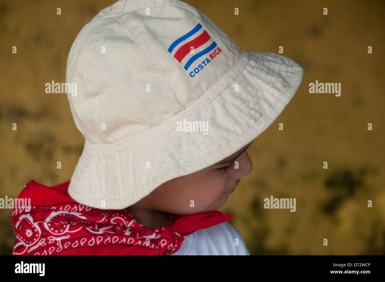Costa Rican bambino Immagini Stock