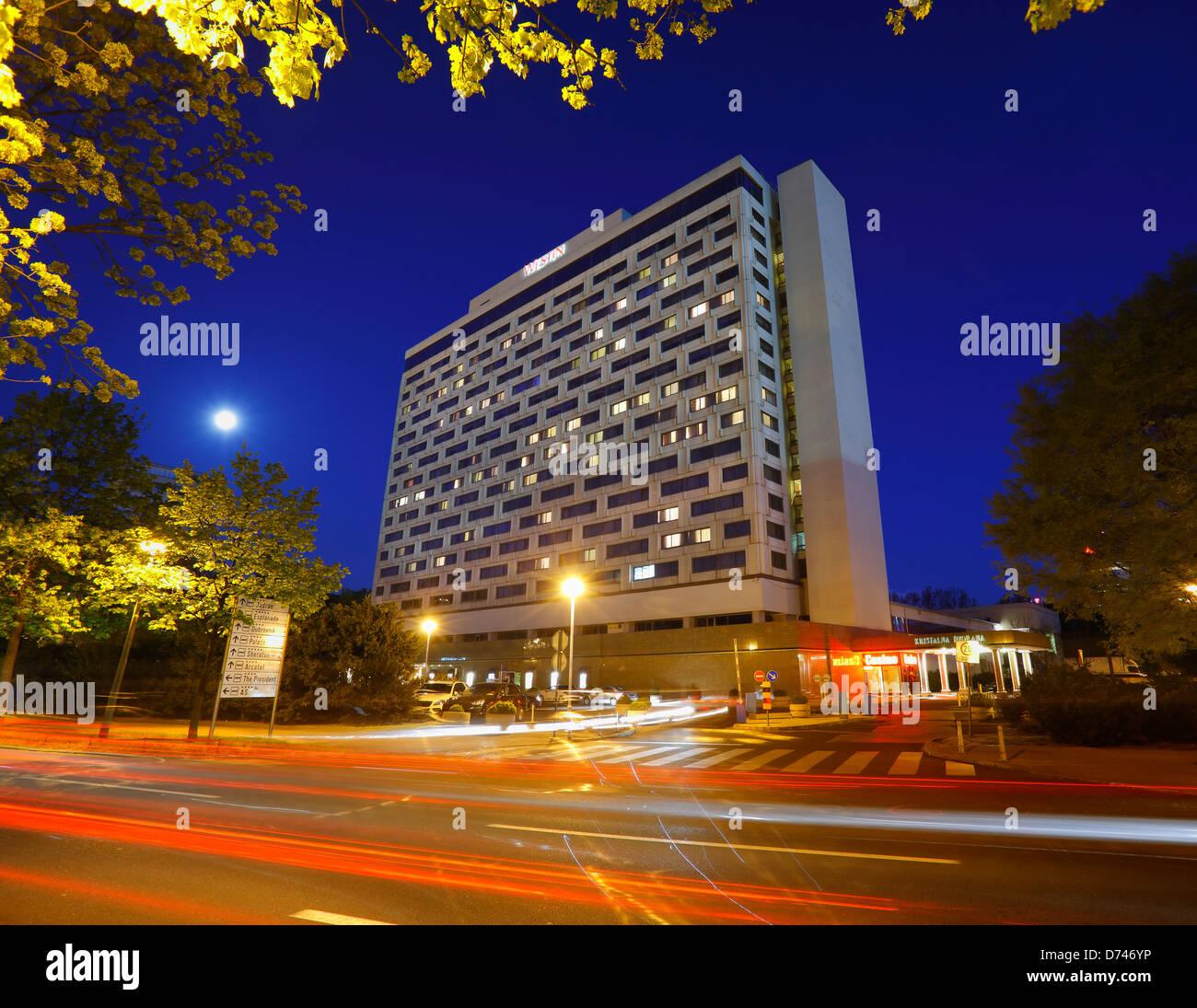 Zagreb, Hotel Westin Zagreb, Croazia Immagini Stock