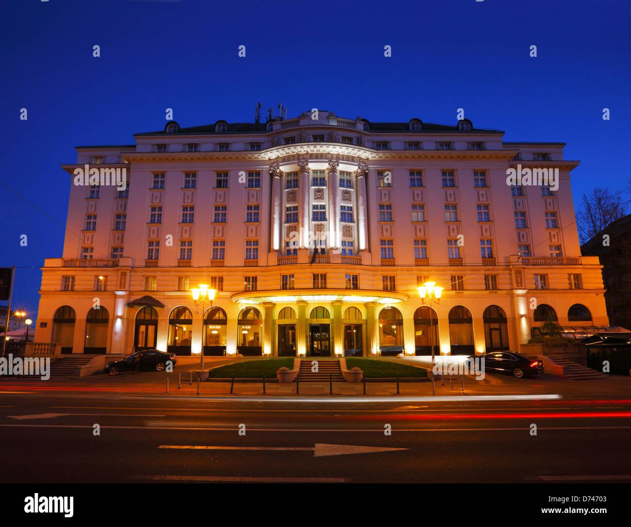 Zagreb Hotel Esplanade Immagini Stock