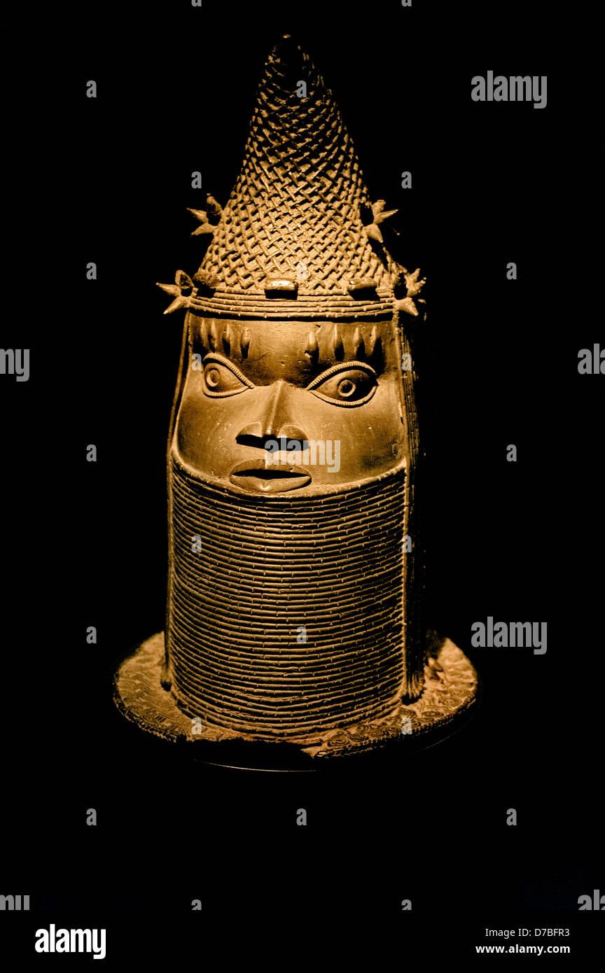 46847e455f Testa di donna reale Benin Nigeria Benin Africa arte da museo Foto ...