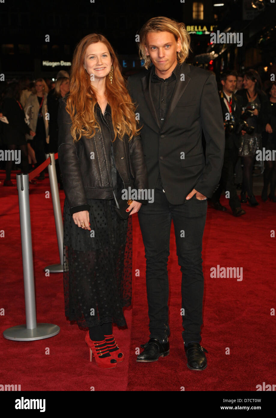 Is jamie campbell bower dating bonnie wright