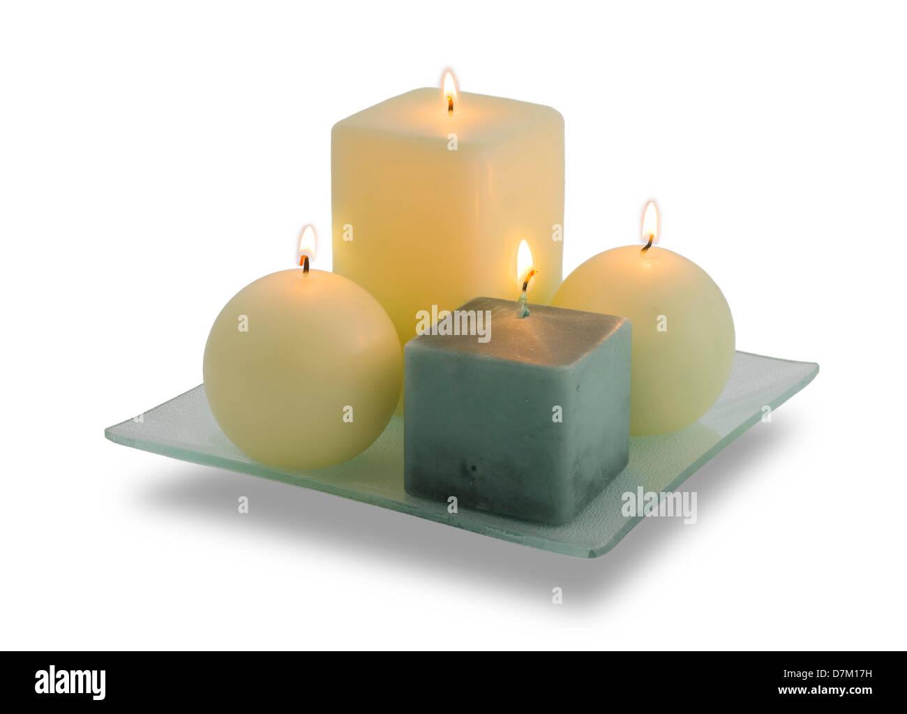 Decorare Candele Di Natale : Decorazione della casa cera lirico altamente profumata candela di