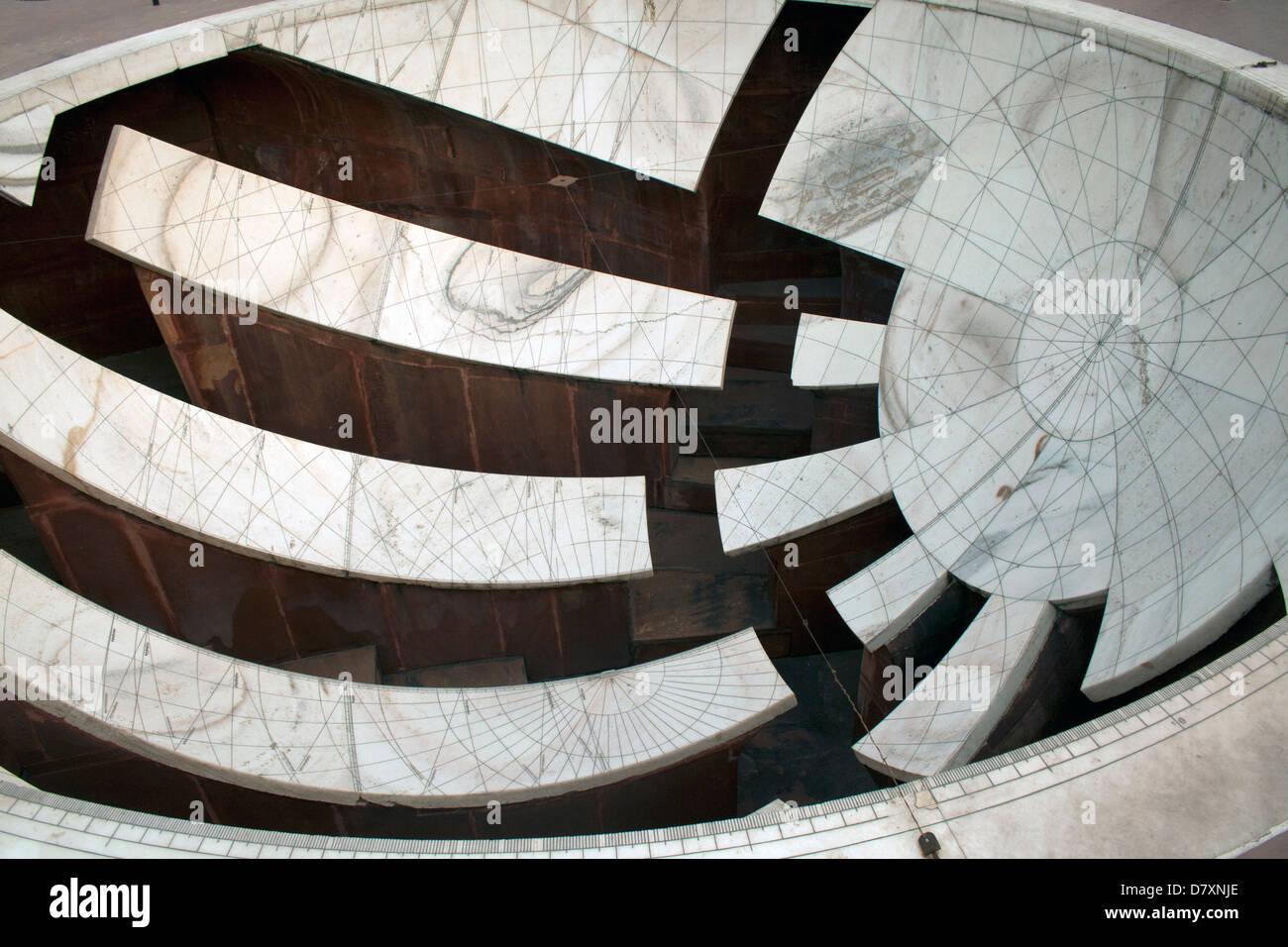 Jantar Mantar ,Jaipur, India. Immagini Stock