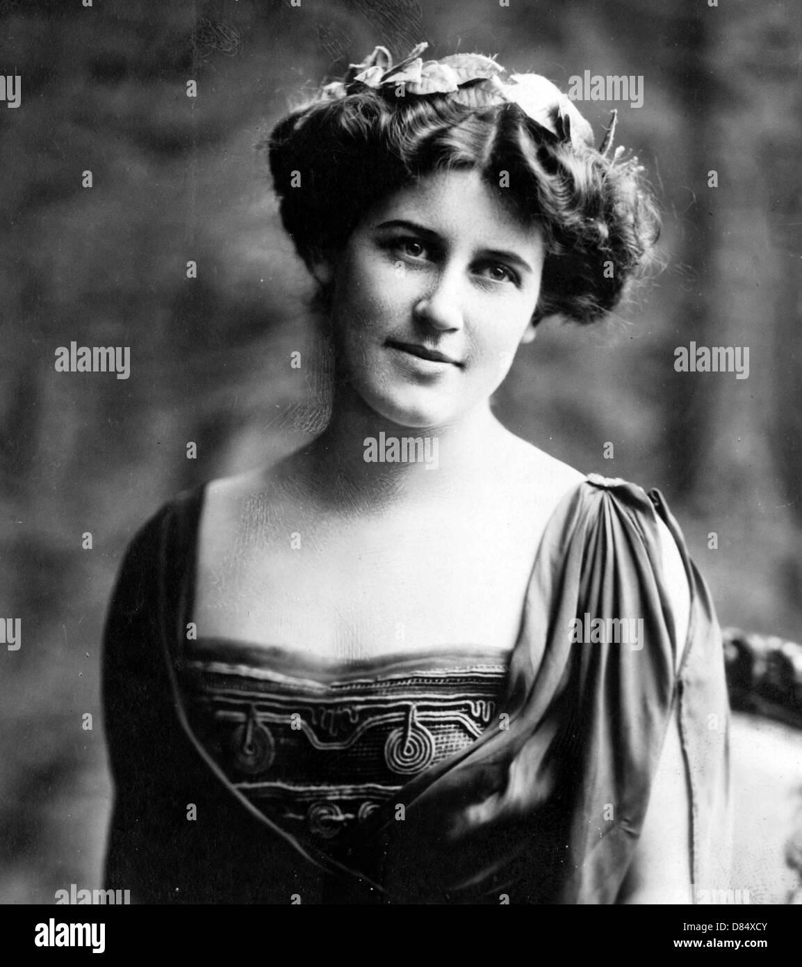 Suffragette Inez Milholland Boissevain Immagini Stock
