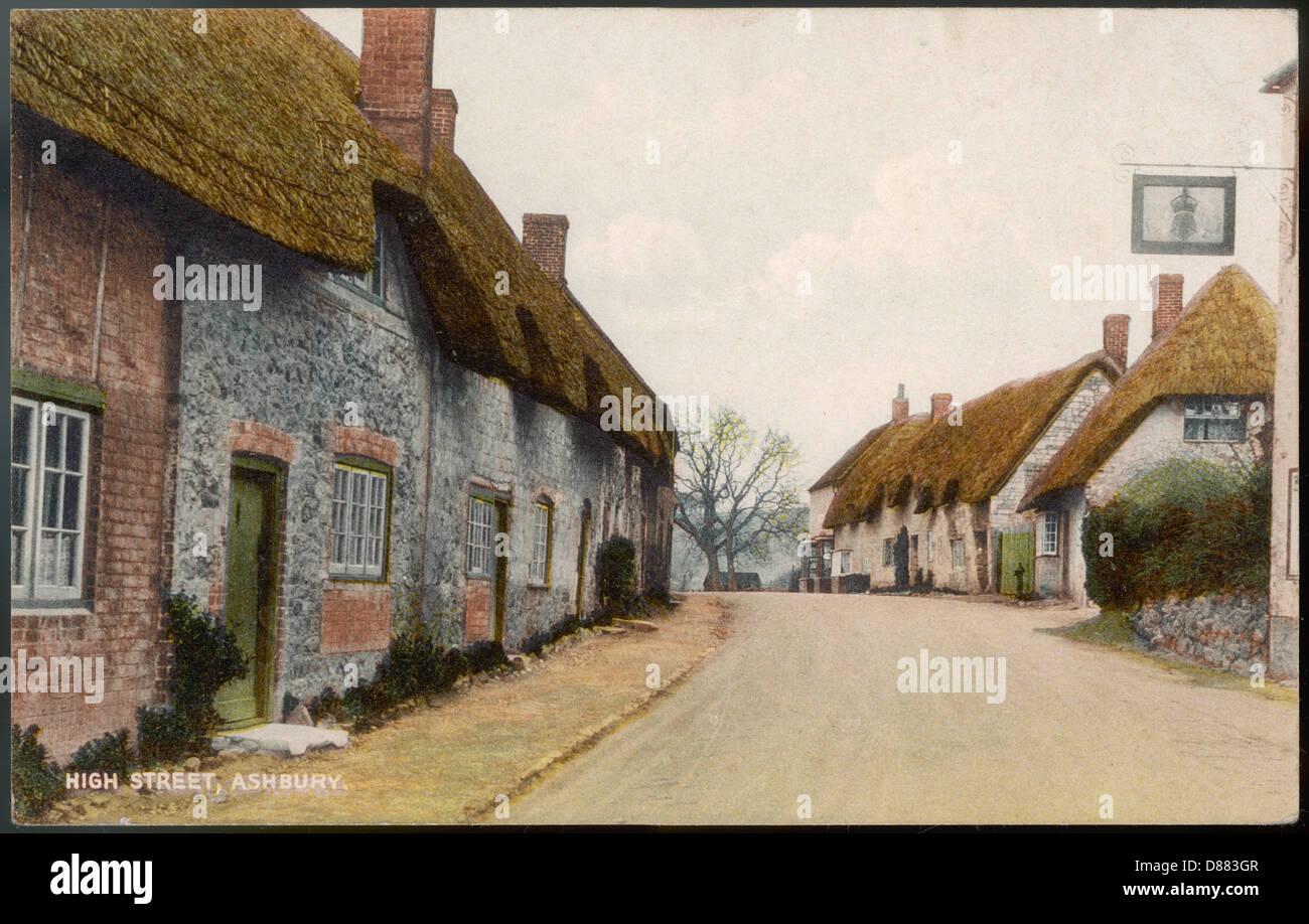 Ashbury Wiltshire 1931 Immagini Stock