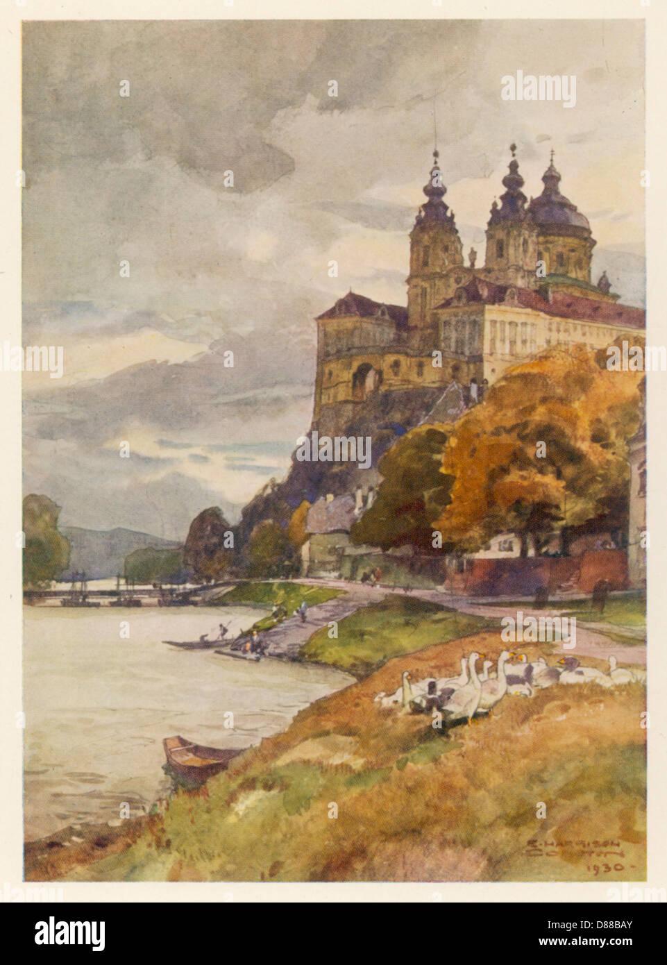 Melk Austria 1930 Immagini Stock