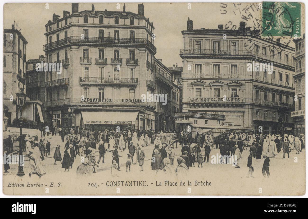 Algeria Costantino 1910 Immagini Stock