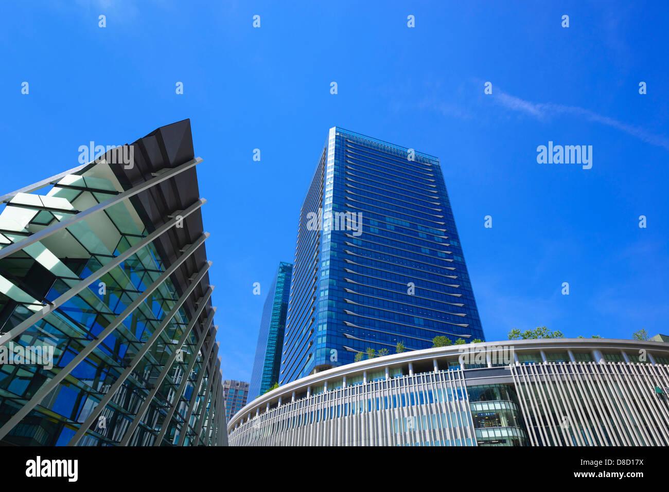 Grande edificio di Font , Osaka Umeda Immagini Stock