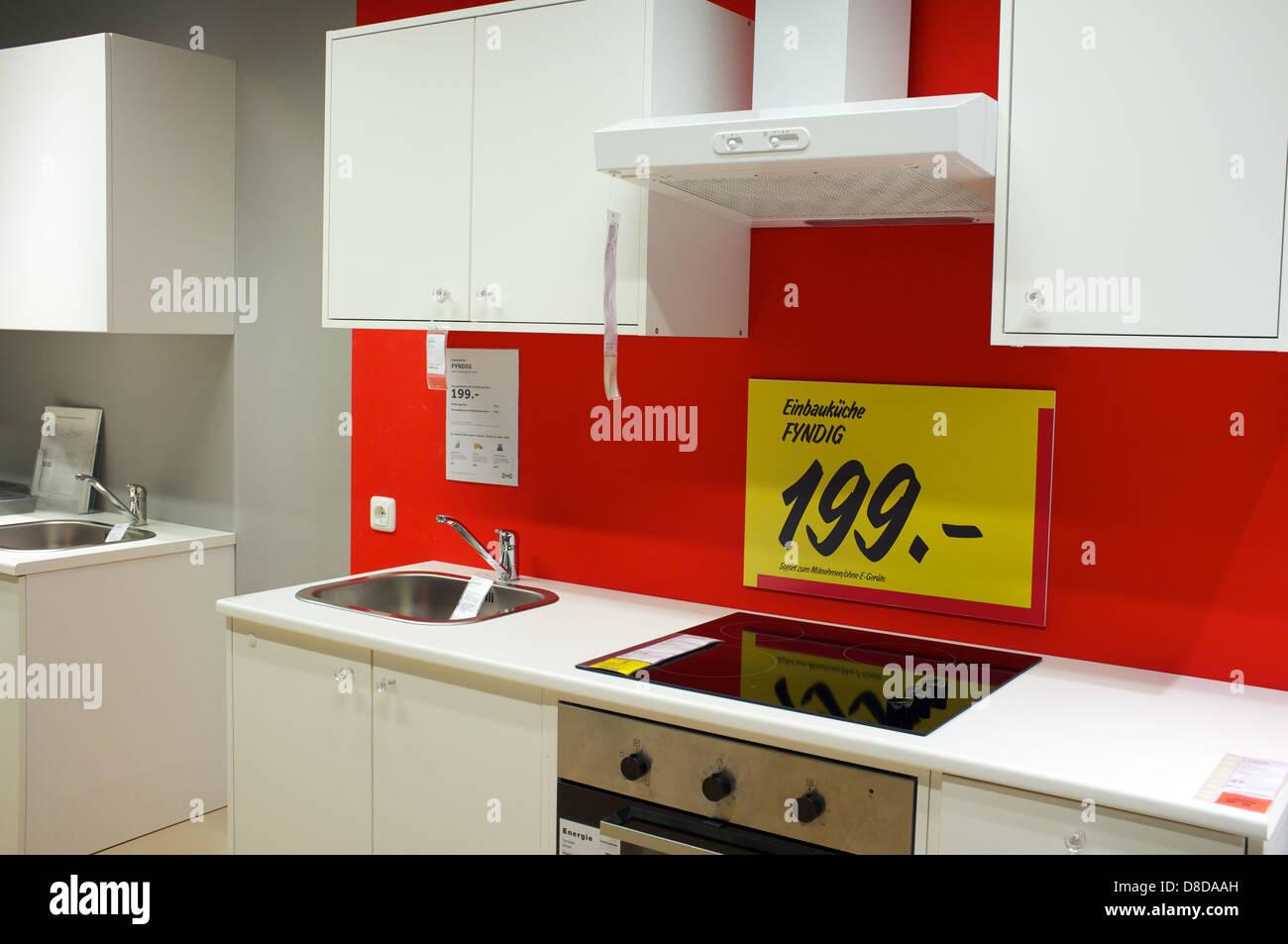 Cucina Ikea un prezzo in Euro Foto & Immagine Stock ...