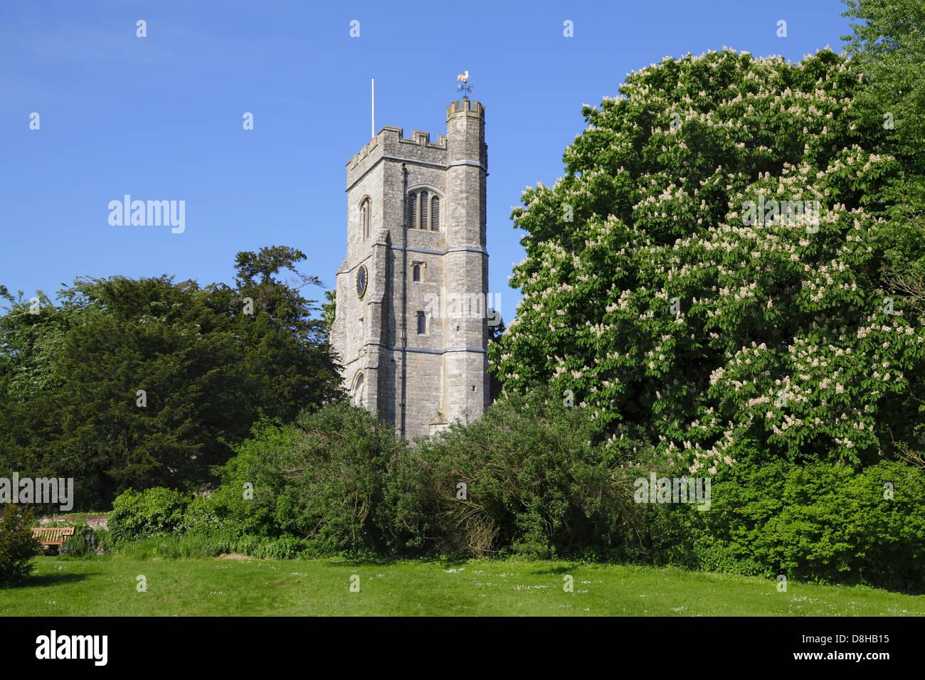 Charing Chiesa Kent England Regno Unito GB Immagini Stock