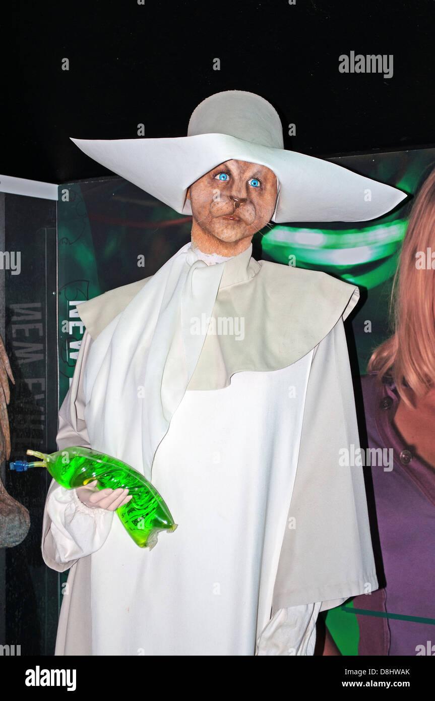 Un ' sorella di Plentitude ' un carattere che è comparso in un episodio della Dr.che show televisivo Immagini Stock