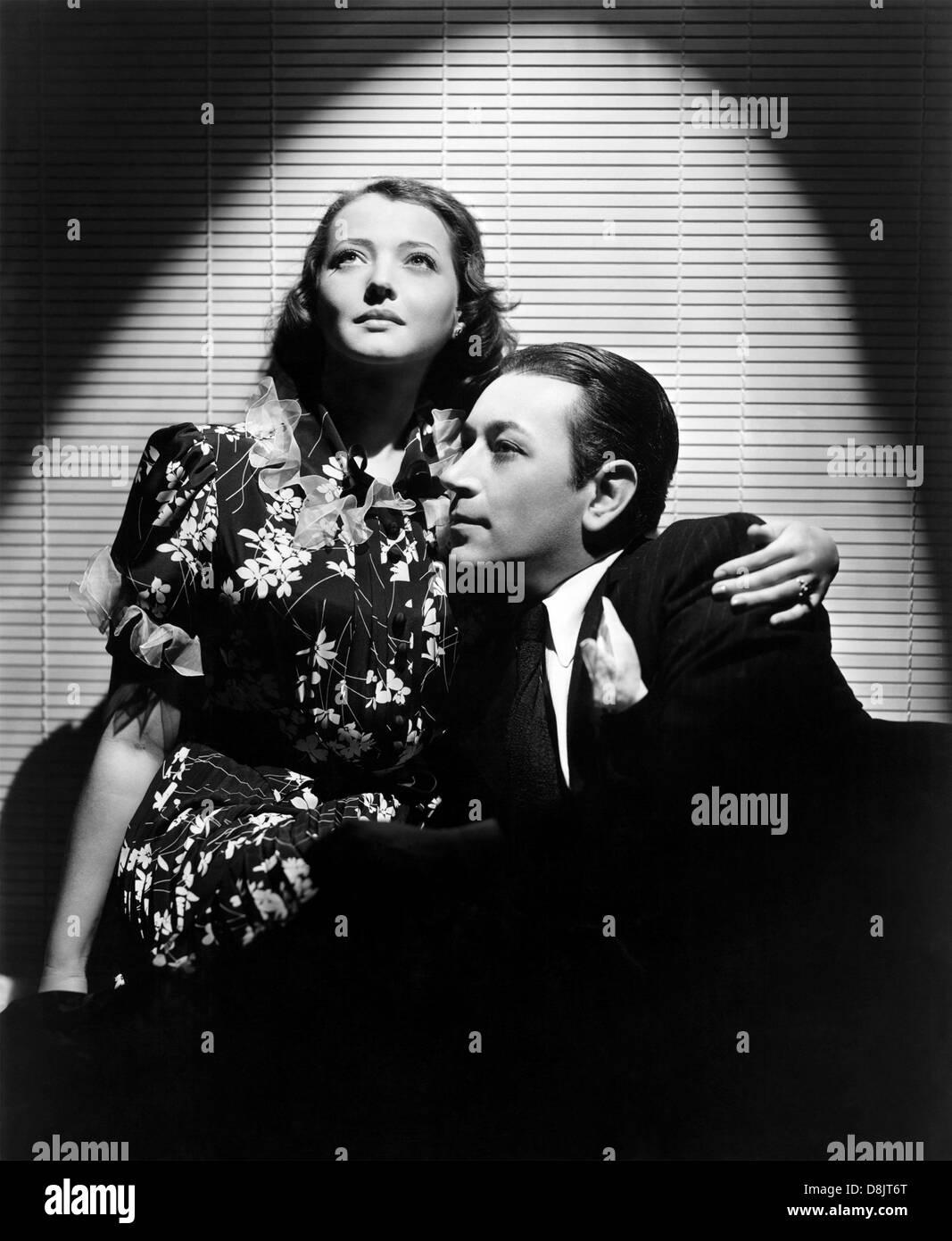 Voi e me 1938 Paramount film con Sylvia George e George Raft Immagini Stock