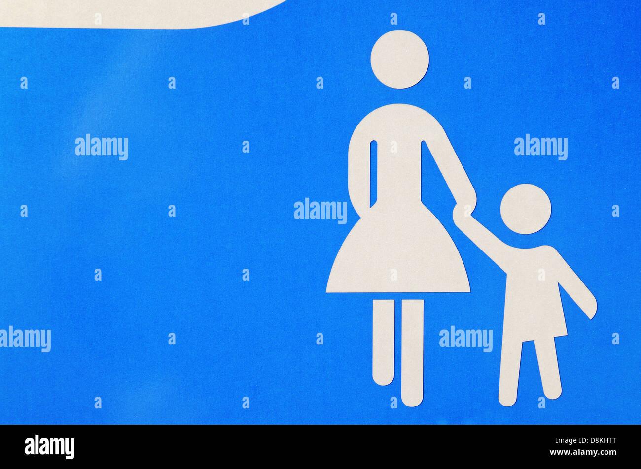 La madre e il bambino Immagini Stock