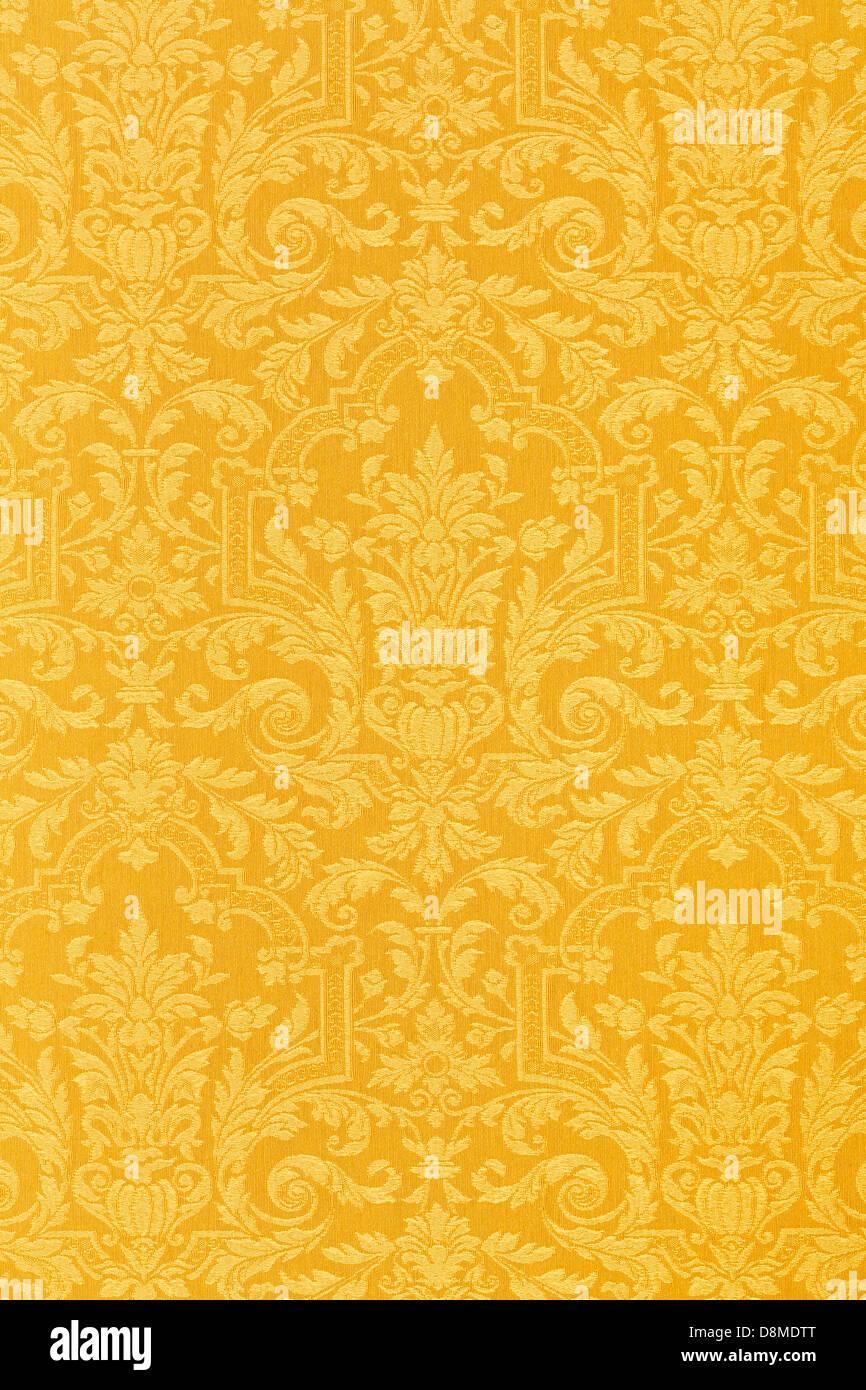 Oro floreali texture di sfondo BACKGROUND Immagini Stock