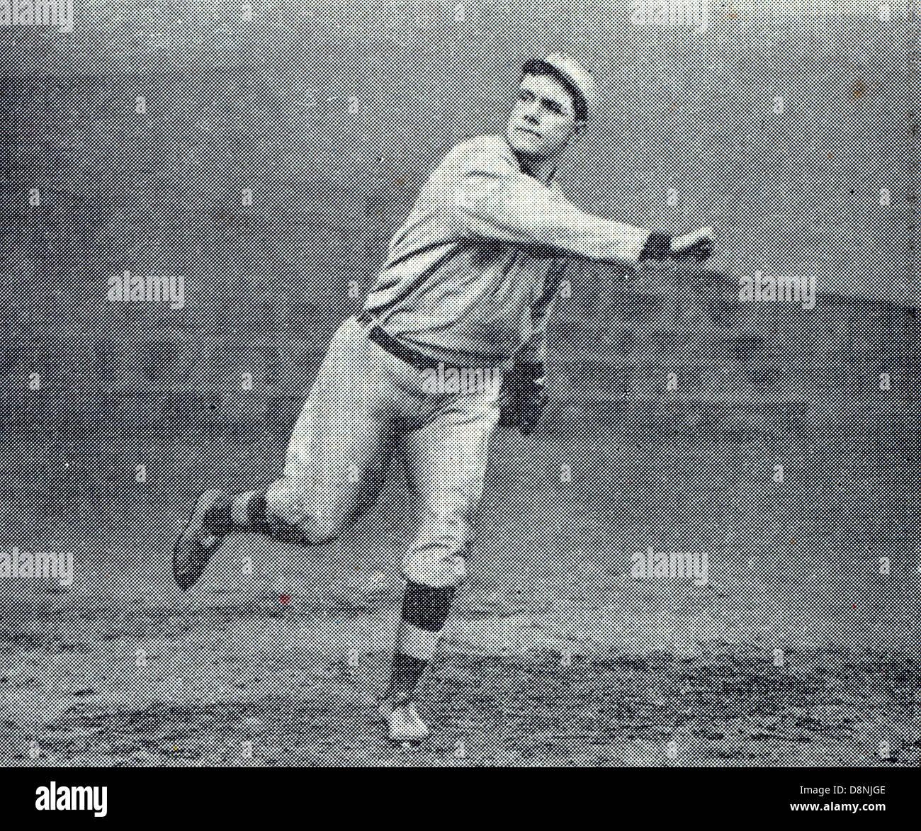 Russell Ford, giocatore di baseball Immagini Stock