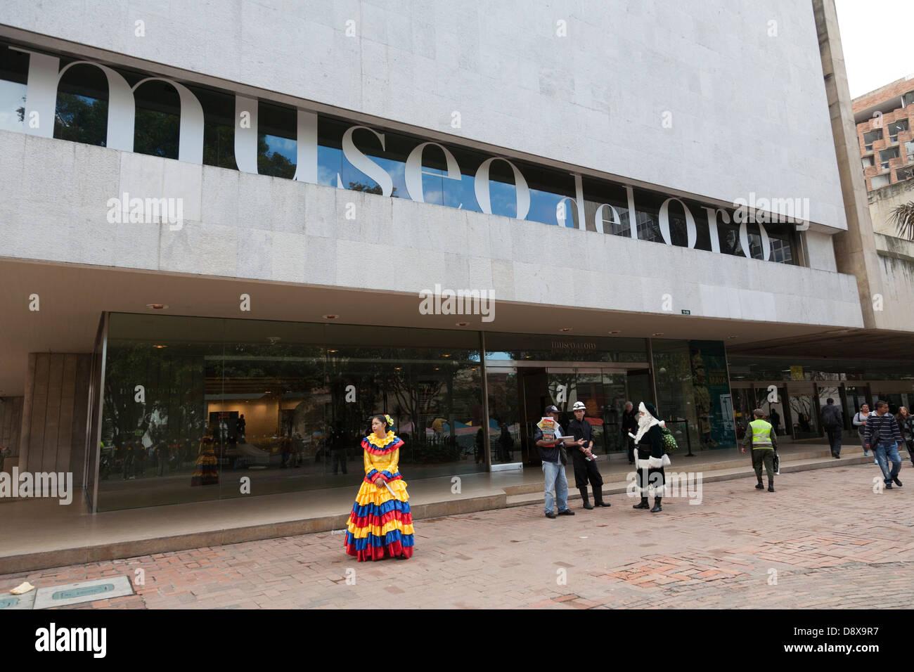 Museo del Oro, Bogotà, Colombia Immagini Stock