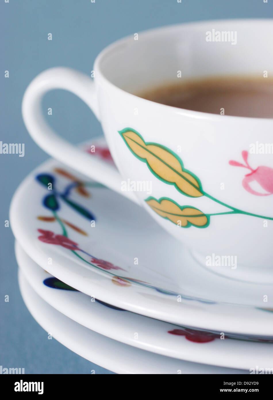 Studio shot della tazza di caffè Immagini Stock