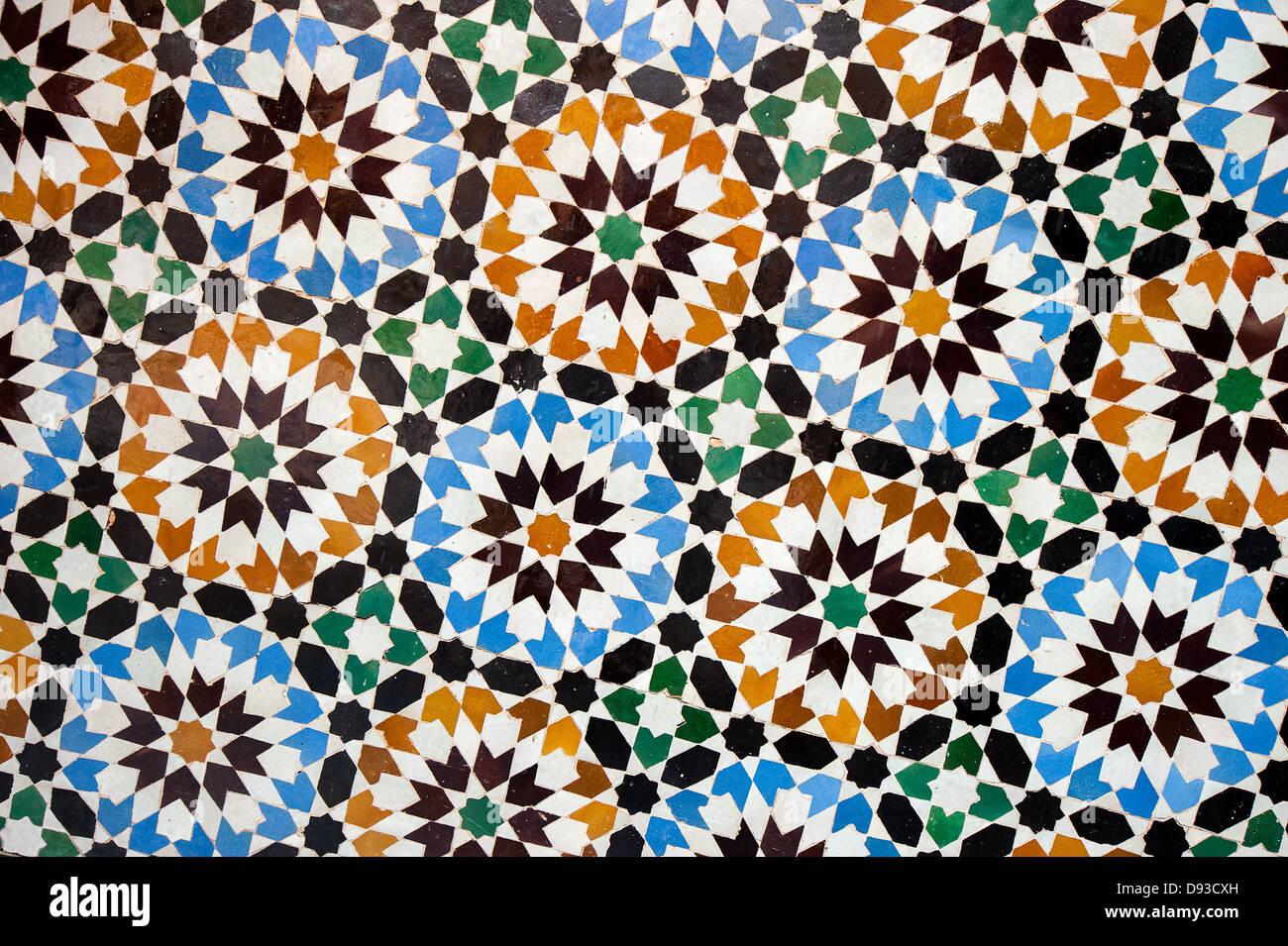 Moroccan pattern immagini & moroccan pattern fotos stock alamy