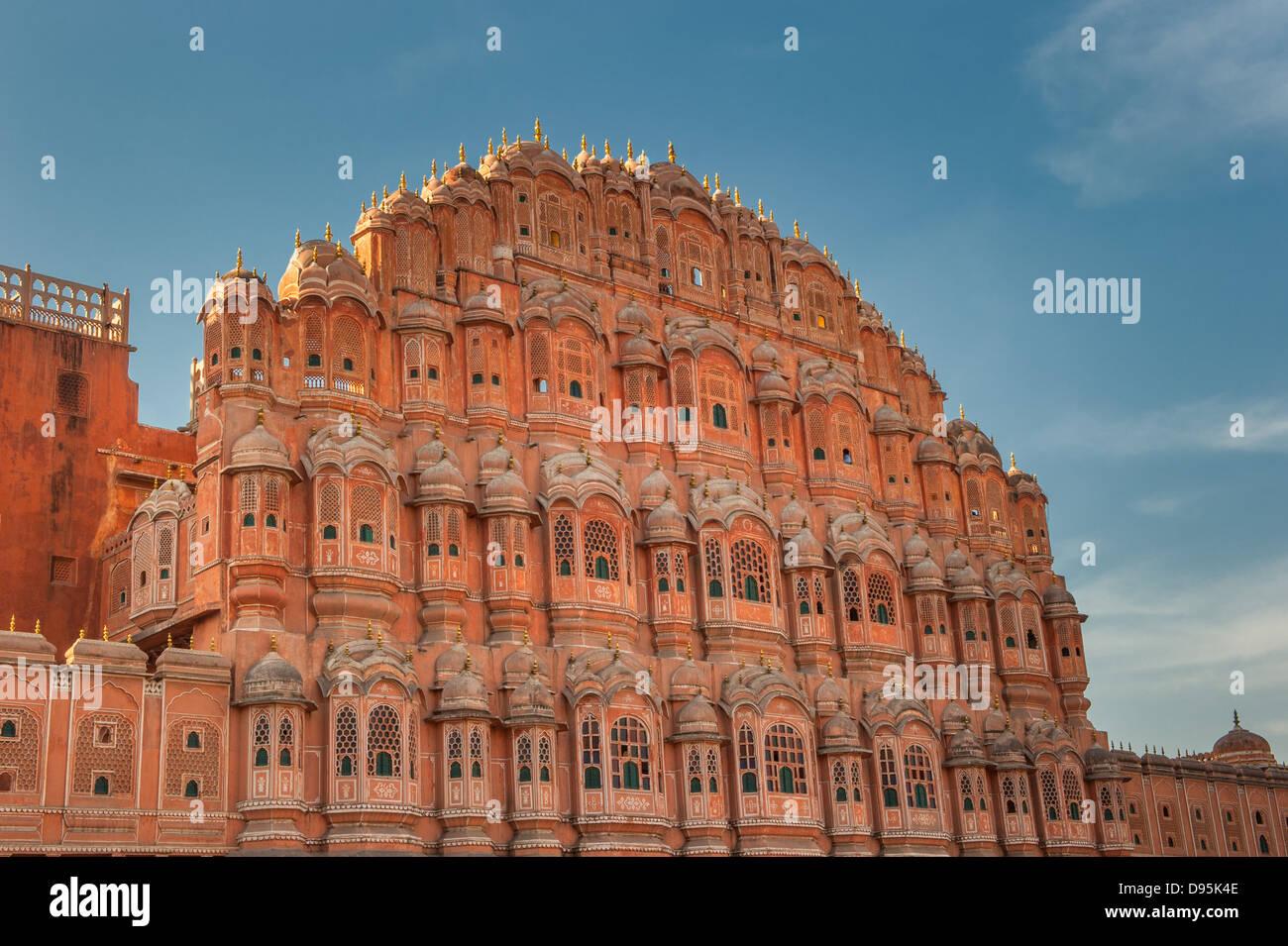Hawa Mahal, Palazzo di venti, Jaipur, India Immagini Stock