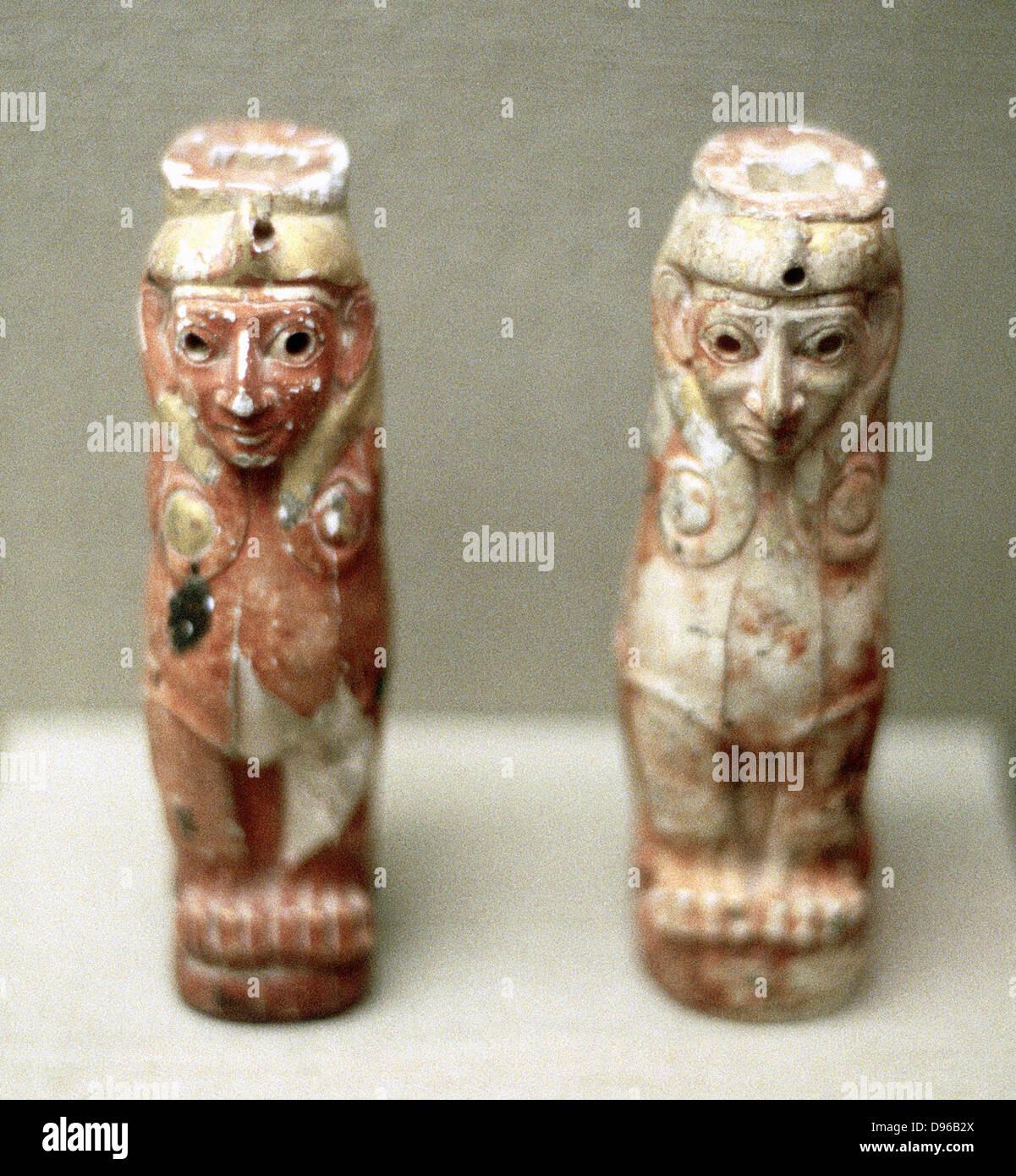 Artefatti (Sphinx figure) dalla Turchia, 1800 BC Immagini Stock