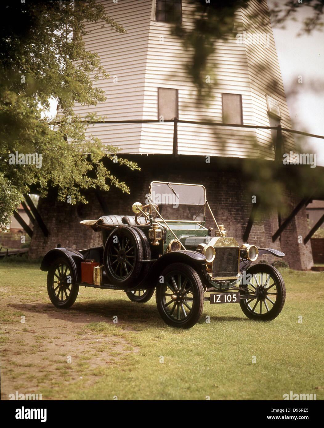 Ford Modello 'T', 1910 Immagini Stock