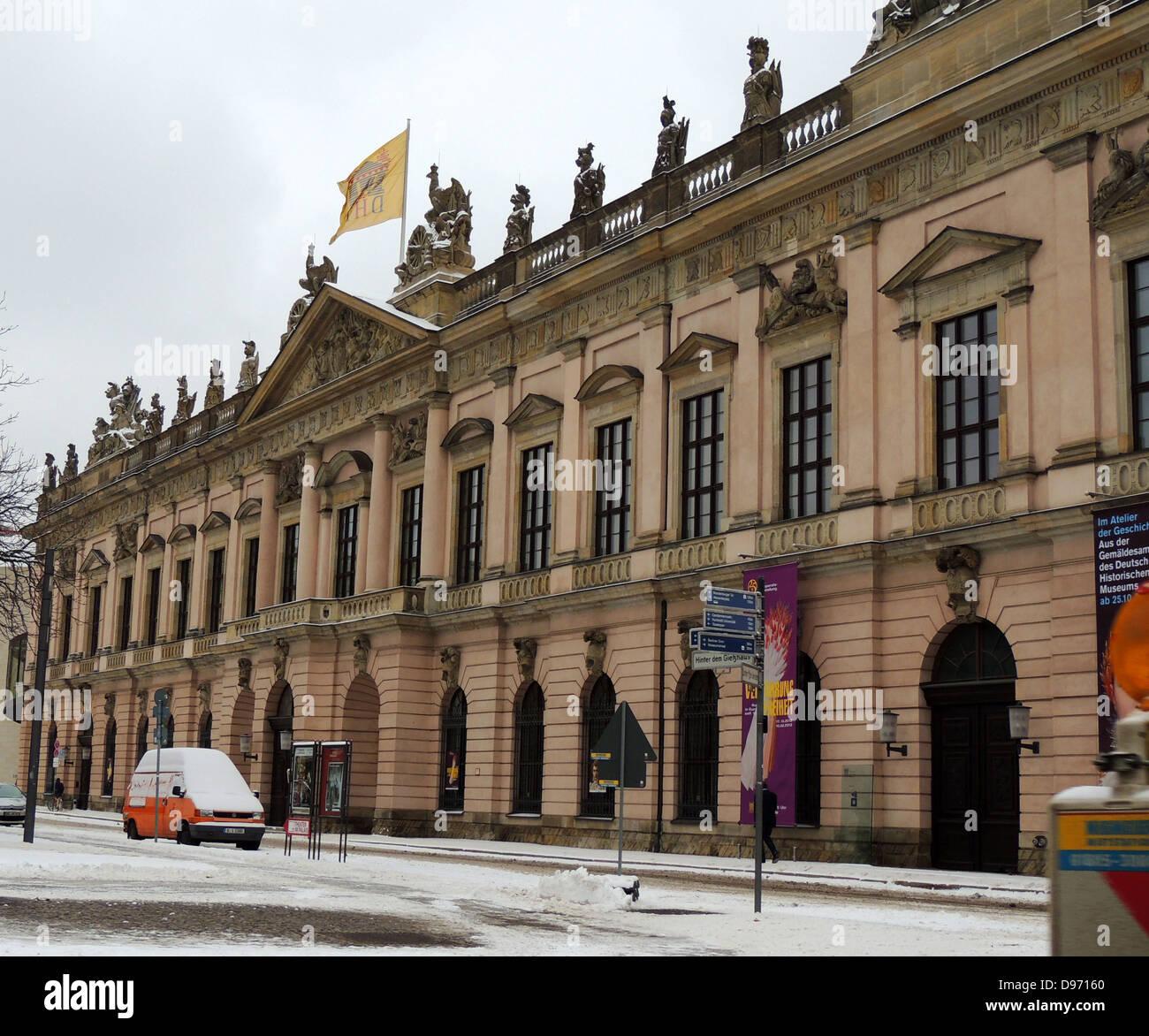 Historische Museum di Berlino. Il Museo Storico Tedesco, DHM in breve, è un museo di Berlino dedicato alla Immagini Stock