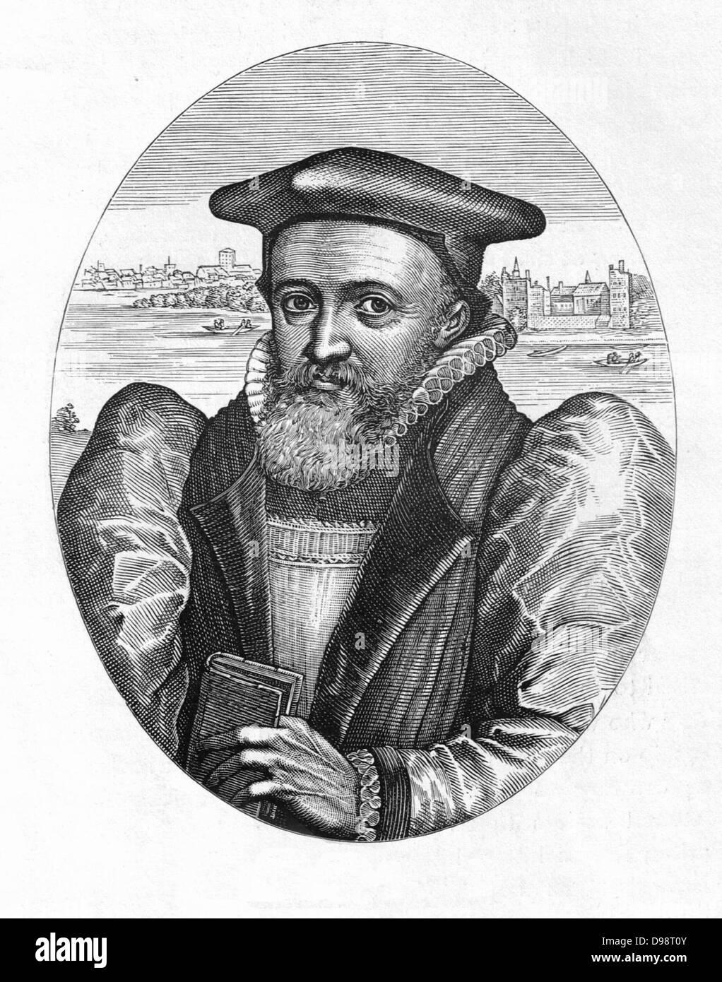 George abate (Ottobre 19, 1562 - 5 agosto 1633) era un inglese divina e l Arcivescovo di Canterbury. Egli ha anche Immagini Stock