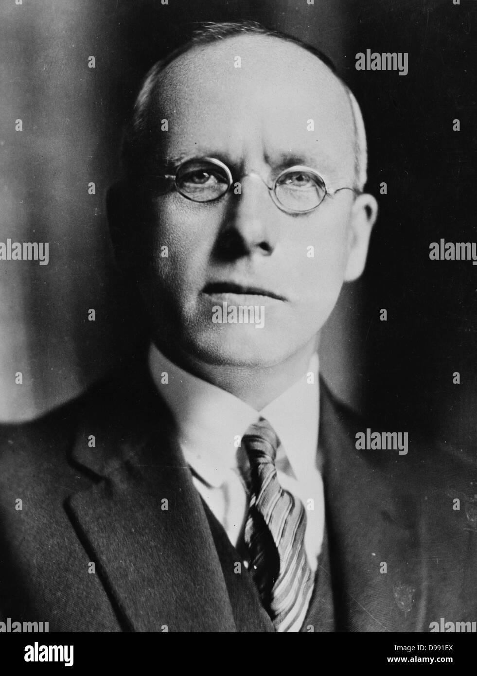 Diritto onorevole Peter Fraser (1884-1950) Il primo ministro della Nuova Zelanda 1940-1949. Nata in Scozia, non Immagini Stock