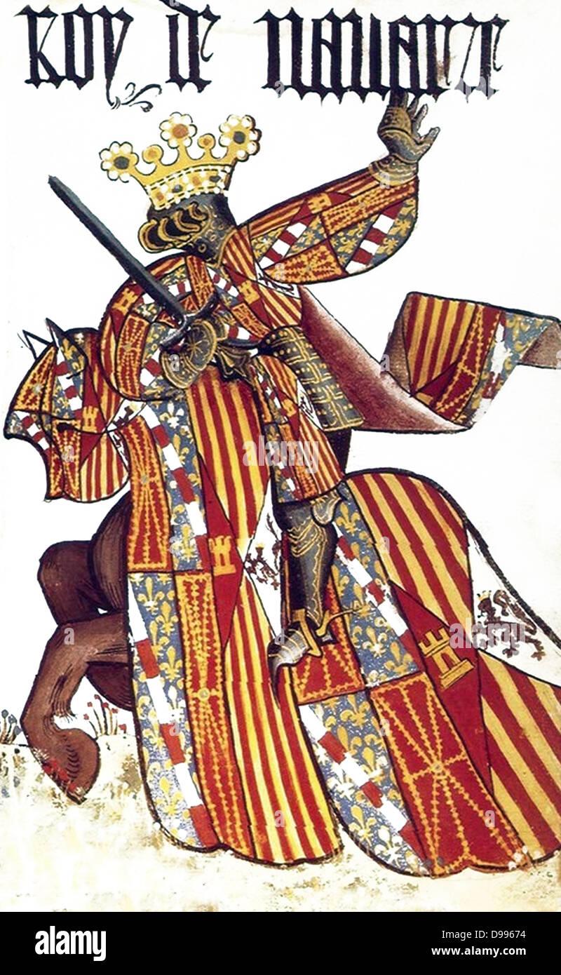 Lo spagnolo del xv secolo Knight Immagini Stock