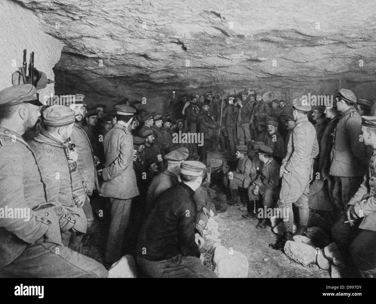 I Guerra Mondiale 1914-1918  soldati tedeschi ad ascoltare un concerto in  la sicurezza 09c03c6a64f9