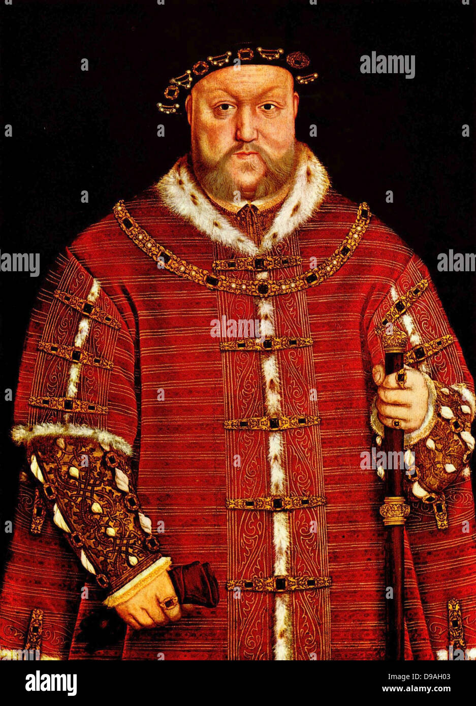 Re Henry VIII Immagini Stock