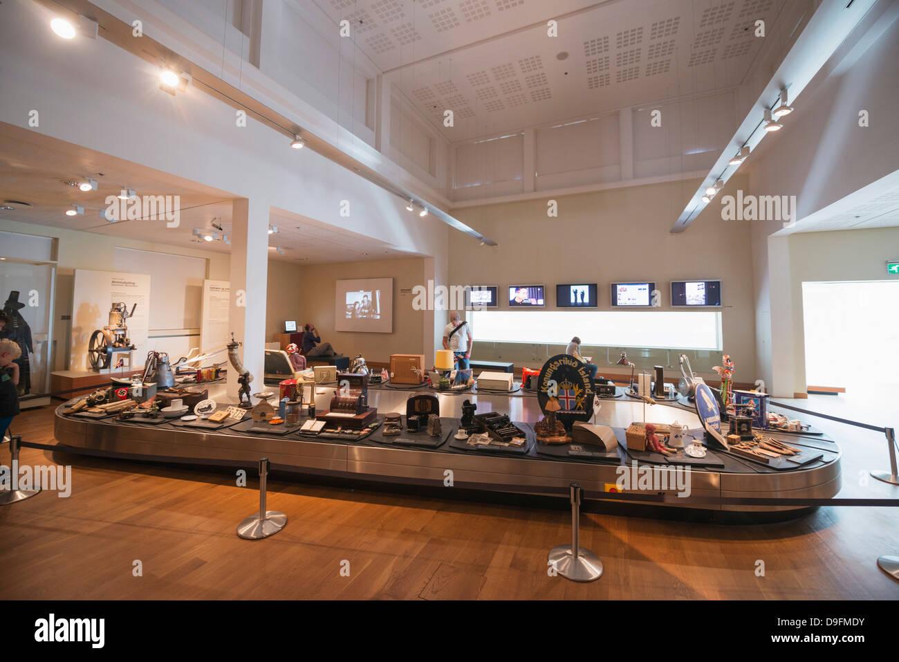 Museo Nazionale, Reykjavik, Islanda, regioni polari Immagini Stock