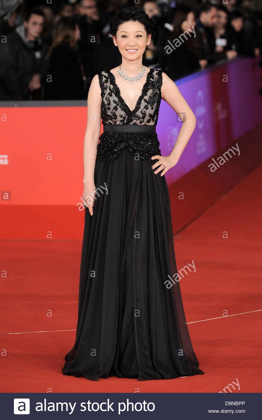 Xu feng,festival internazionale del film di roma Immagini Stock
